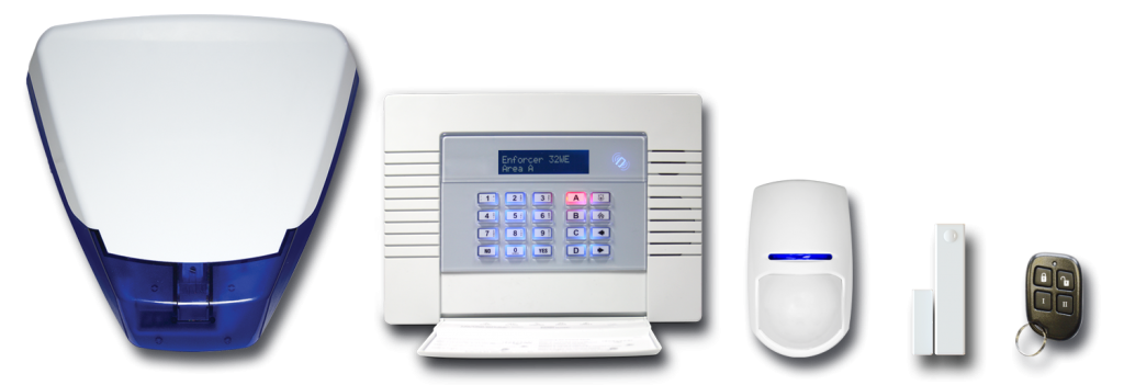 Wireless Burglar Alarms Claverdon - Wireless Burglar Alarms
